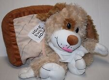 "Happy Napper Dog House Plush Pillow 22"" Stuffed Animal Home Sweet Home Soft Toy"