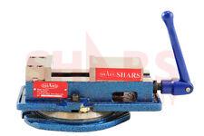 "SHARS 4 x 4-1/8"" Precision Mill Vise Anti-Jaw Lifting W/ Swivel Base New"