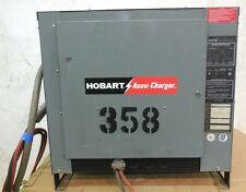 HOBART 600C3-12 ACCU-CHARGER 3 PHASE 24 V 12 CELL FORKLIFT BATTERY CHARGER