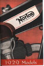 %% NORTON PROSPEKT 1929 BIG FOUR NR.18 16H 19 24 14