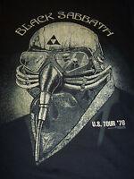 BLACK SABBATH NEVER SAY DIE U.S. TOUR 1978 T-SHIRT NEW !