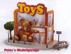 Spielzeugladen, Majorette Majocity Large Diorama 1:64