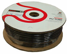 """Polyurethane Tubing 1/4"""" (100 Foot Roll) Black for Push To Connect Fittings-New!"""
