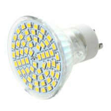 4.5W LED GU10 SMD60 Warm White Bulbs Lamps - Pack of 10 (D13240)
