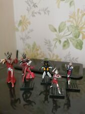 Bandai Ultraman Action Figures 4xmini ones + 2x Small ones Vintage Very  Rare