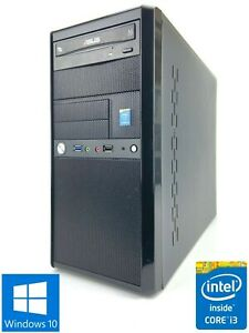 Custom MT - 500GB HDD, Intel Core i3-4170, 8GB RAM - Win 10 Pro