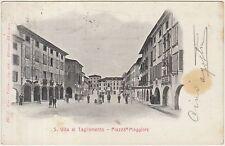 S.VITO AL TAGLIAMENTO - PIAZZA MAGGIORE (PORDENONE) 1904