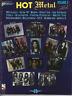 HOT METAL For Guitar TAB & Notes Sheet Music Book & CD Rock Songbook Album