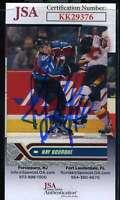 Ray Bourque JSA Coa Hand Signed 2000 Topps Autograph