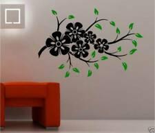 Decoración de paredes florales para el hogar