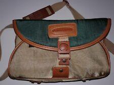 Panasonic Vintage SLR Camera Bag medium shoulder strap green gold