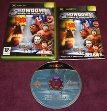 Showdown - Legends Of Wrestling III (Microsoft Xbox, 2004, DVD-Box)