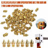 UK 19PC MK8 Extruder Nozzle 0.2~1mm For Makerbot Creality CR-10 Ender 3D Printer