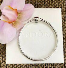 Authentic Pandora Sterling Silver Charm Bracelet