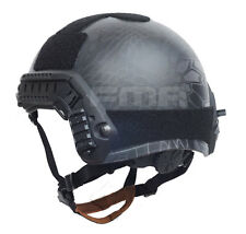 New Black Military Tactical Protective Ballistic Helmet TYPHON M/L For Paintball