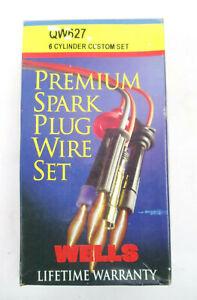 Wells Premium Spark Plug Wire Set 6 Cylinder QW627