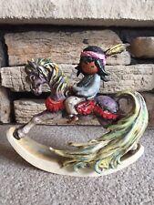 DeGrazia 1987 Beautiful Rocking Horse Goebel Figurine Imprint 1033218