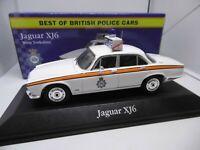 Atlas / Vanguards JA18 Jaguar XJ6 West Yorkshire Police 1:43 Scale ref gj
