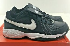 New Men's Nike AIR DIAMOND TRAINER - Black/White - Sizes 6-15M