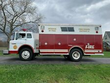 1986 FORD C8000 FIRE RESCUE TRUCK ONLY 7651 MILES