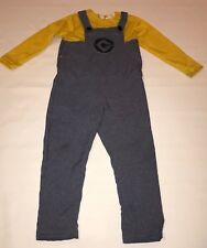 Despicable Me Minion Halloween Costume Boys Size M 8-10 Rubies