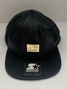 Starter Black Label Leather Hat - New