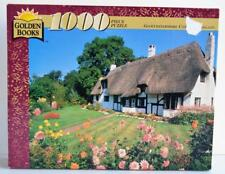 1996 Golden Books ~ Gloucestershire Cottage England ~ 1000 Piece Puzzle ~ New
