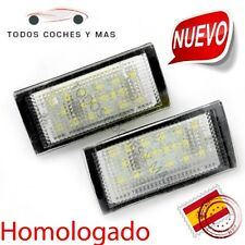 LUZ LED MATRICULA BMW E46 2DR 98-03 HOMOLOGADO E11 PLAFONES LUCES LUZ ENVIO 24H