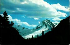 Mt Jackson and Jackson Glacier National Park Montana Vintage Postcard