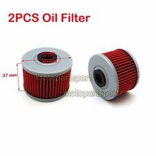 2x Oil Filter For Honda CRF250L XR 440 500 250R 250L 350R 400R 600R 650L XR650R