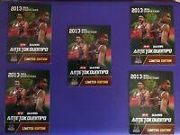 🔥 Giannis Antetokounmpo ACEO Rookie Gems  RC Bucks NBA 5 Card Lot Mint