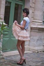 AMERICAN APPAREL tutu skirt nude festival ONE SIZE