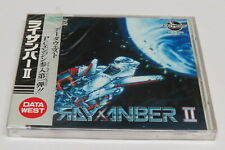 Rayxanber II PC Engine CD-ROM² Duo-RX ORIGINAL * BRAND NEW SEALED