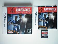 Undercover Mene ton Enquete Jeu Vidéo Nintendo DS