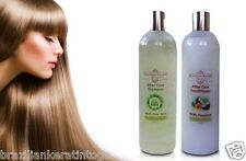 BRAZILIAN KERATIN HAIR TREATMENT POST SHAMPOO 500ml +CONDITIONER 500ml SALT FREE