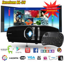 BL-59 3200 Lumens HDMI LED HD 1080P Heimiko Beamer Projector Video Media Player