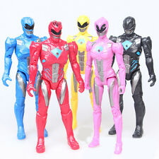 5pcs Power Rangers Superhero Kids Action Figures Display Figurines Doll Play Toy