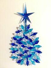 60 Medium Twist Bulbs and 1 Large Modern Blue Star for Ceramic Christmas Trees