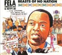 FELA KUTI & EGYPT 80 Beasts Of No Nation / O.D.O.O 2013 reissue CD NEW/SEALED