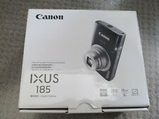 Canon IXUS 185 20.0 MP Digital Camera - Silver Opened never used