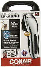 Conair 22-Piece Cord/Cordless Rechargeable Haircut Kit , New, Free Shipping