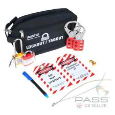 Lockout Tagout Starter Kit Includes Hasps Padlocks Tags MCB Case and More