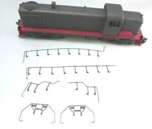 O Scale Weaver Ultra Line RS-3 Unlettered 5520LV