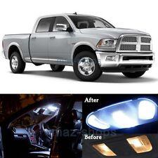 12Pcs Xenon White LED Lights Interior Lamp Package Kit for 2009-2017 RAM 1500 MP