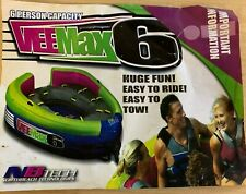 Vee Max 6 Person Inner Tube Tow-able Boat Raft Floater