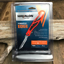 Havalon Piranta-EDGE Blaze Orange Quick Change Skinning Knife 60EDGE