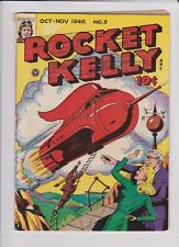 ROCKET KELLY #5 VG, Gerber 8, no Gerber picture, extremely rare, scarce,  1946