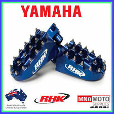 YAMAHA YZ250 RHK PURSUIT FOOTPEGS 1999 - 2015 BLUE