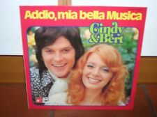"""""""12"""" - CINDY & BERT - Addio, mia bella Musica"""