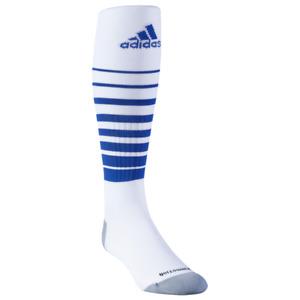 Adidas Kids White OTC Nylon Climacool Cushioned Team Speed Soccer Socks S 13C-4Y